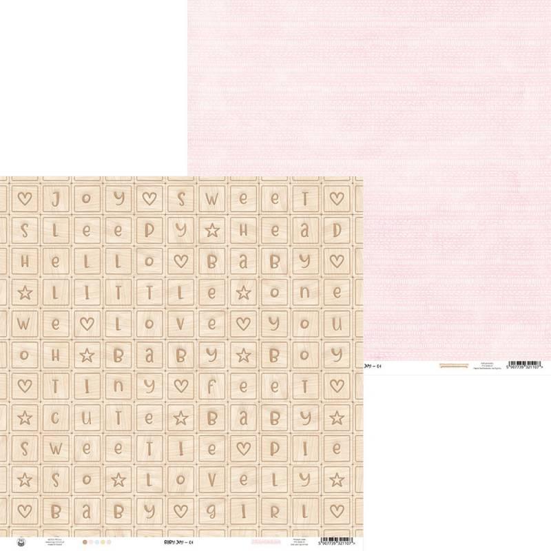 """Papier Baby Joy 01, 12x12"""""""