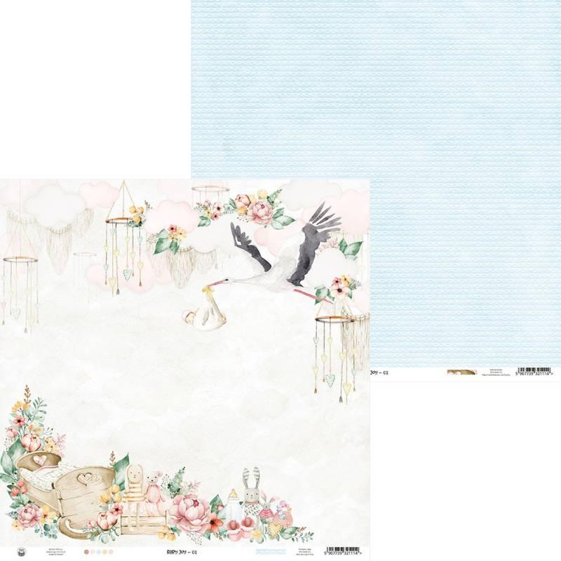 """Papier Baby Joy 02, 12x12"""""""