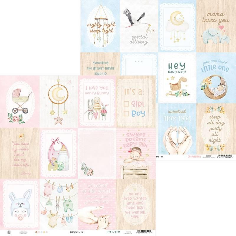 """Papier Baby Joy 05, 12x12"""""""