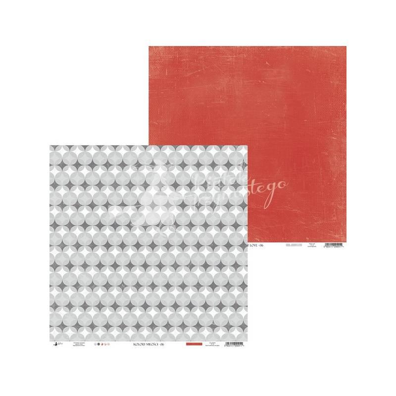 """Papier Kolory Miłości 06, 12x12"""""""