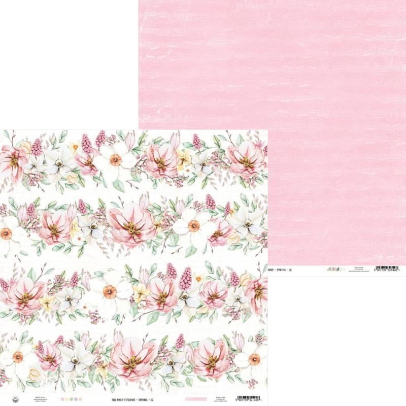 "Papier The Four Seasons - Spring 02, 12x12"""