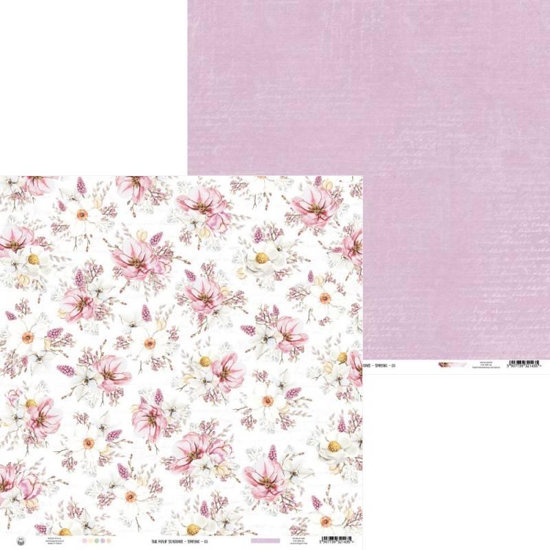 "Papier The Four Seasons - Spring 03, 12x12"""