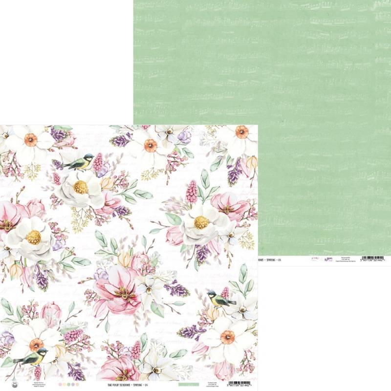 "Papier The Four Seasons - Spring 04, 12x12"""