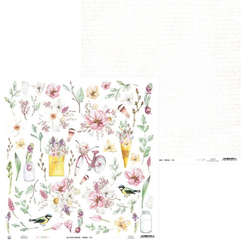 """Papier The Four Seasons - Spring 07a, 12x12"""""""
