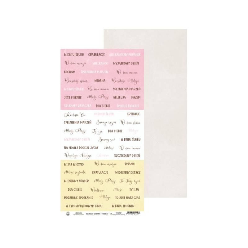 "Papier The Four Seasons - Spring 08, 6x12"""