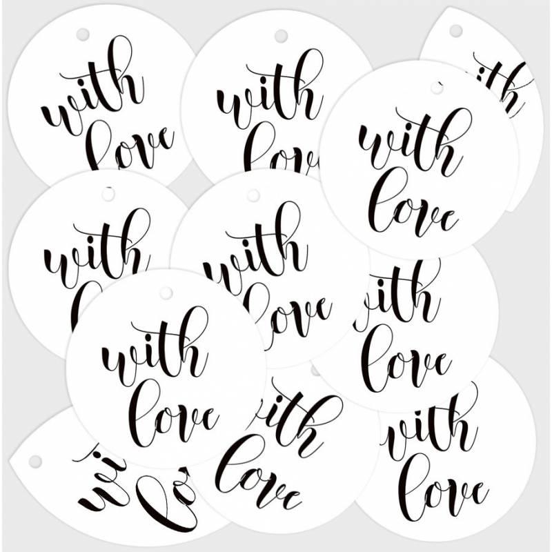 Zestaw tagów With Love 01