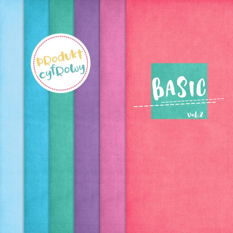 Kolekcja papierów Basic 02, 6szt