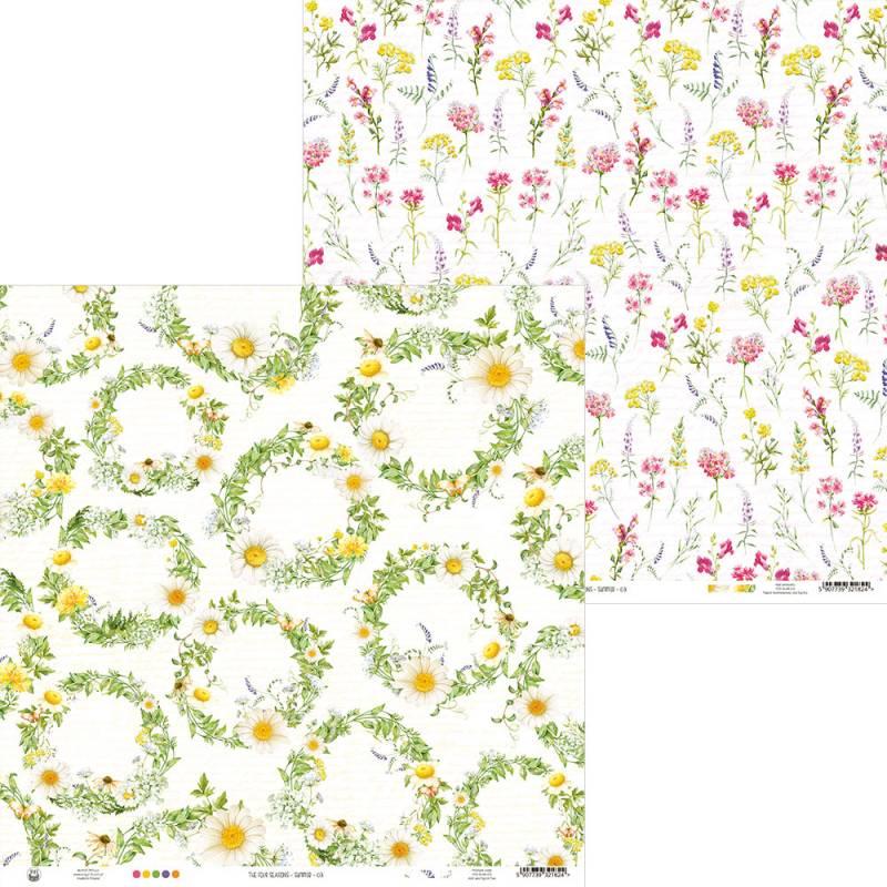 "Papier The Four Seasons - Summer 03, 12x12"""