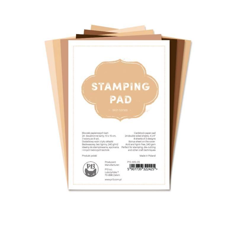 "Bloczek papierów do stemplowania Stamping Pad Skin Tones, 6x4"""