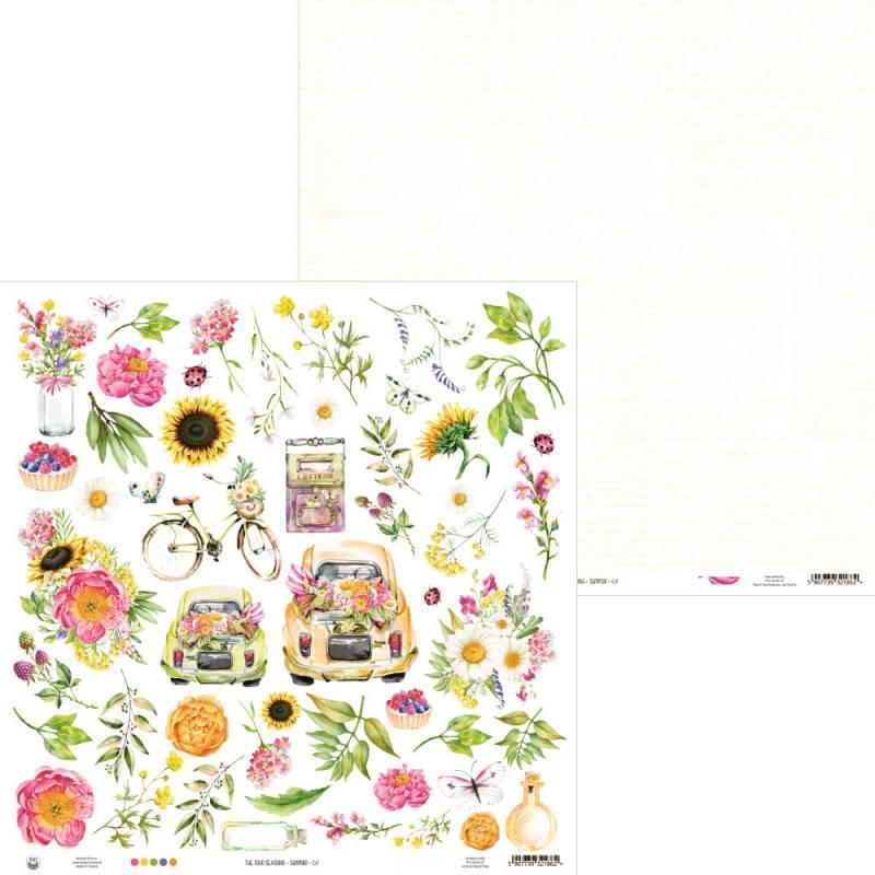 "Papier The Four Seasons - Summer 07, 12x12"""