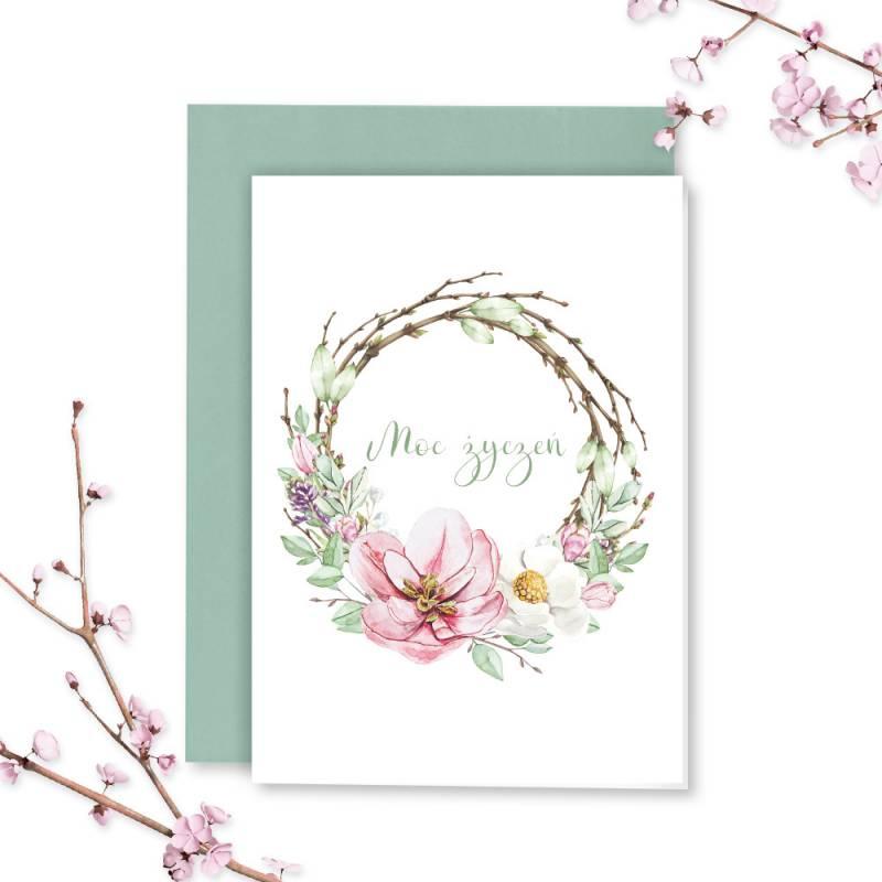 Karta z kopertą The Four Seasons- Spring 02, A6 PL