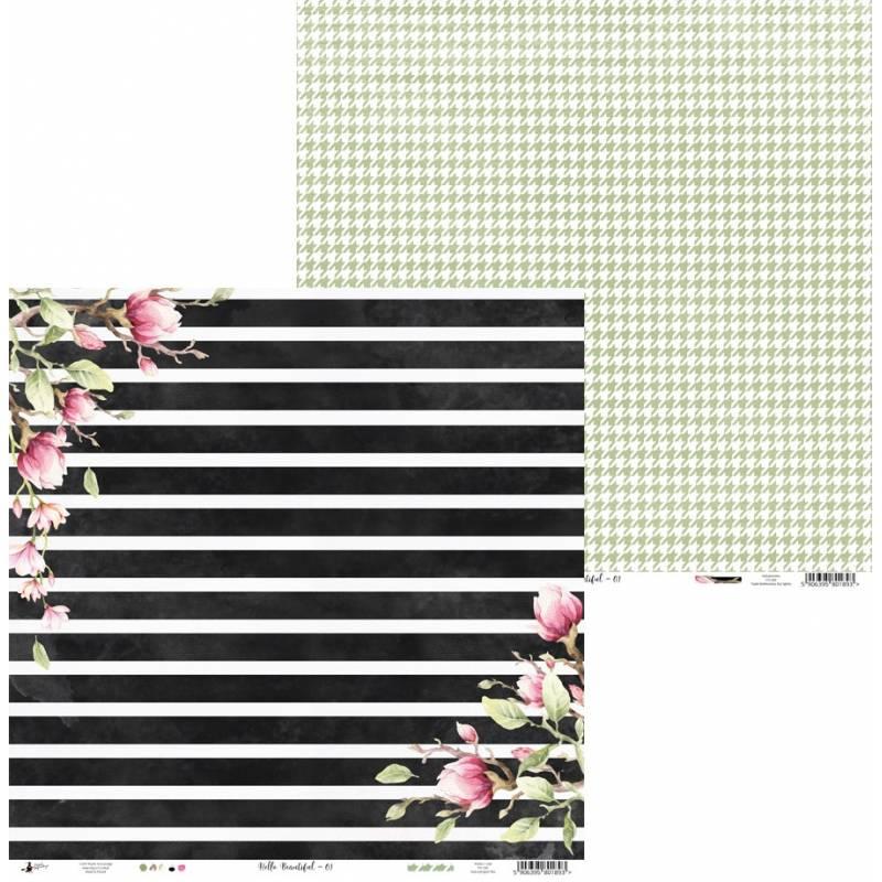 "Papier Hello Beautiful 01, 12x12"""