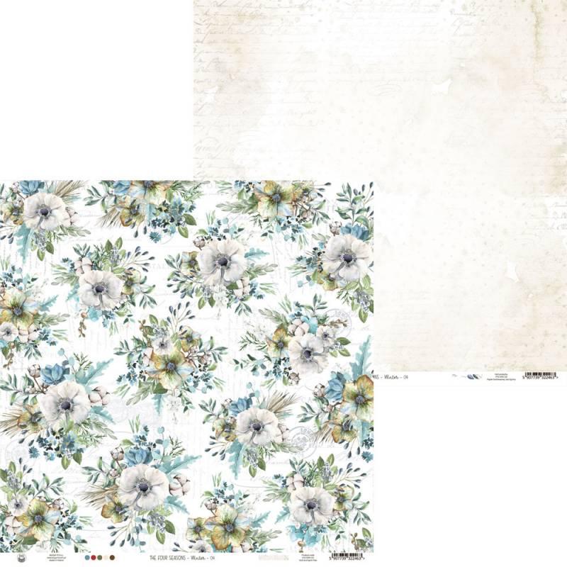 "Papier The Four Seasons - Winter 04, 12x12"""