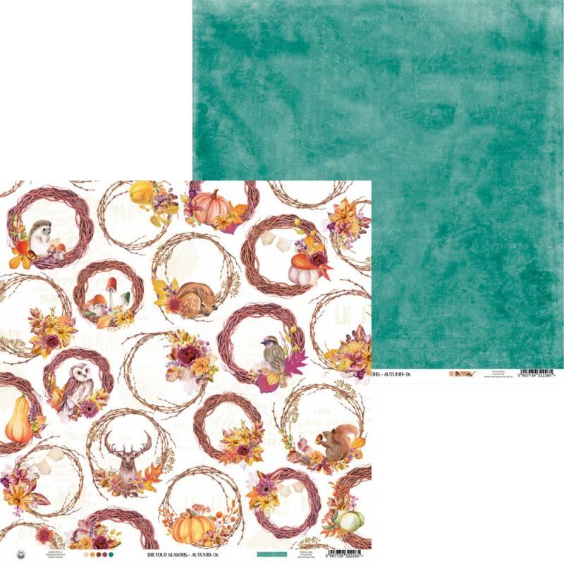 "Papier The Four Seasons - Autumn 06, 12x12"""