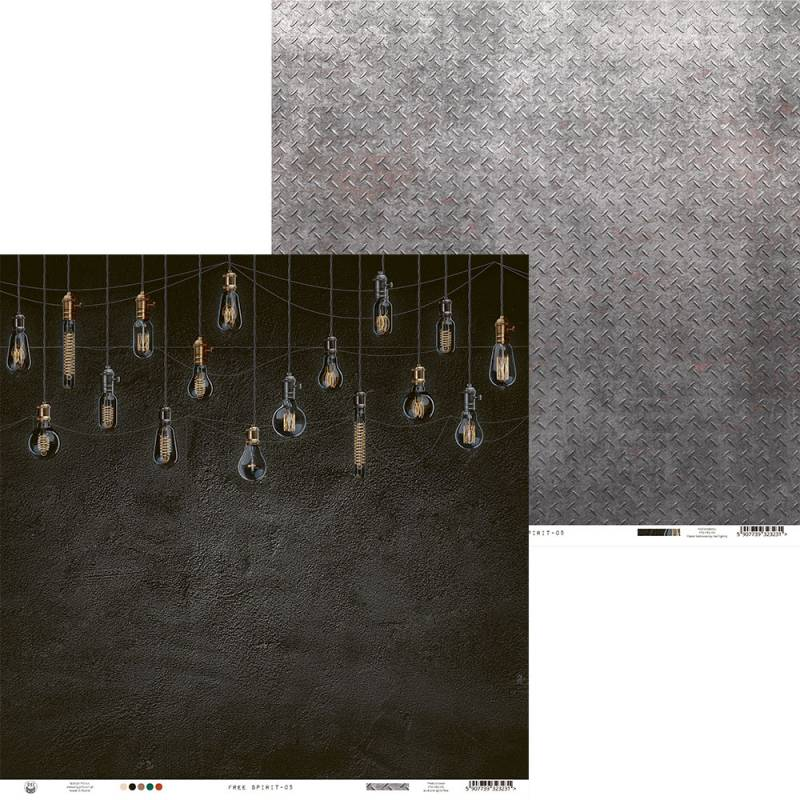 "Papier Free Spirit 05, 12x12"""