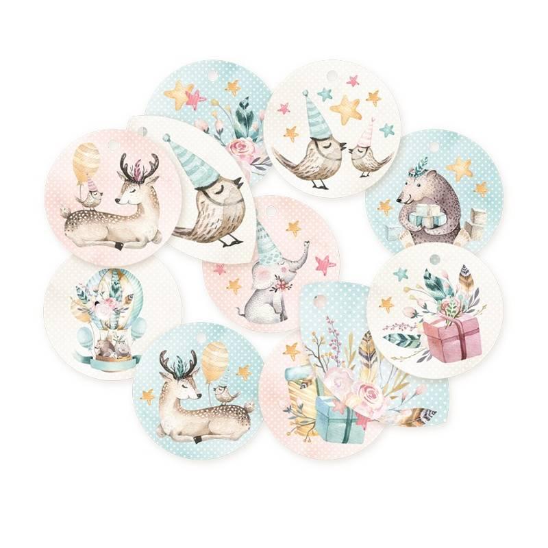 Zestaw tagów Cute & Co. 01