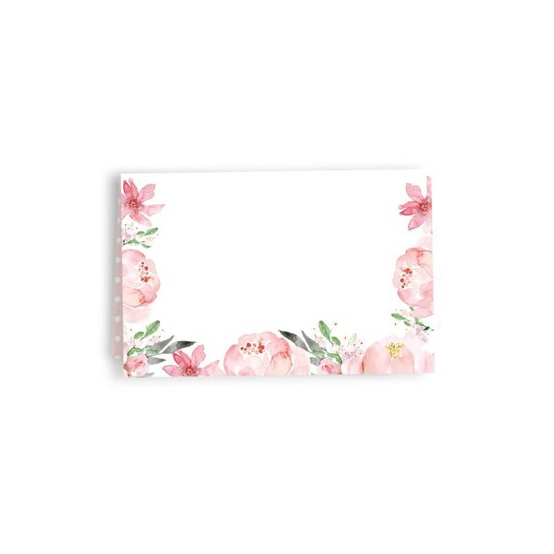 Zestaw wizytówek na stół Love in Bloom, 10 szt.