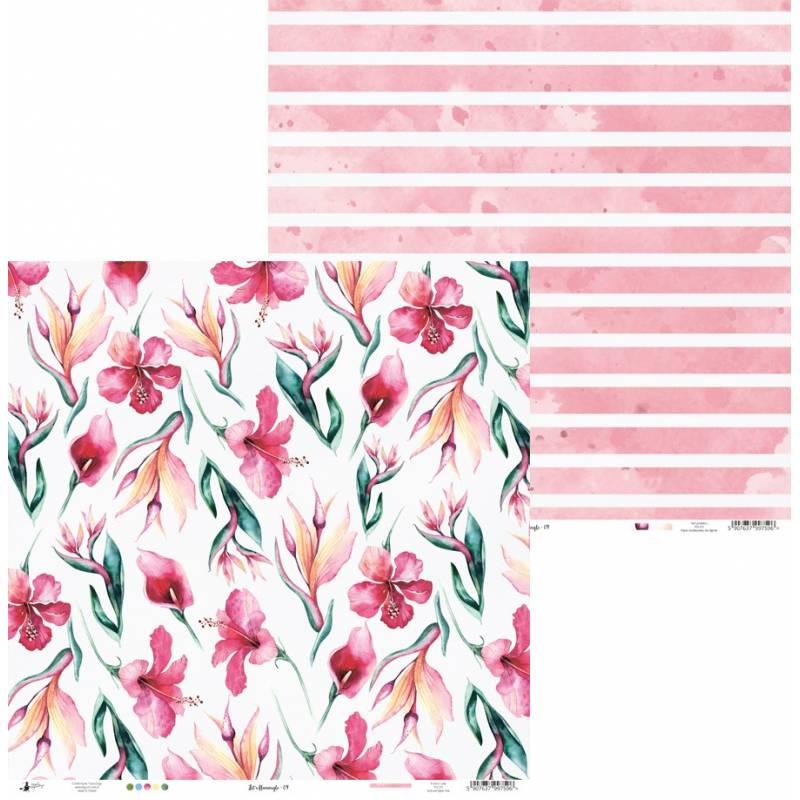 """Papier Let's flamingle 04, 12x12"""""""