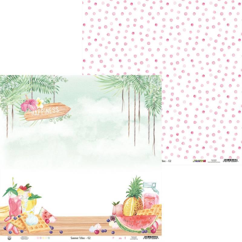 """Papier Summer vibes 02, 12x12"""""""