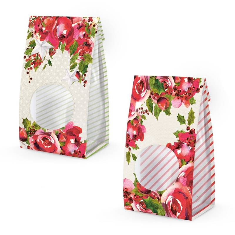 Zestaw pudełek na łakocie Rosy Cosy Christmas, 6szt.