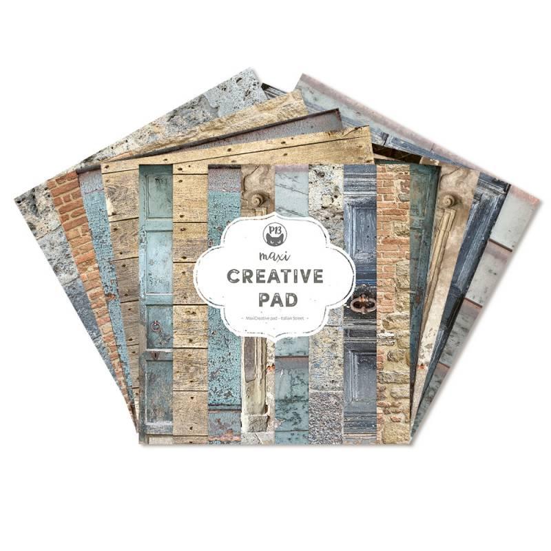 "Maxi Creative Pad Italian Street, 12x12"""