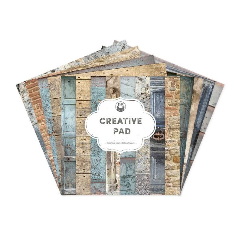 "Creative Pad Italian Street, 6x6"""