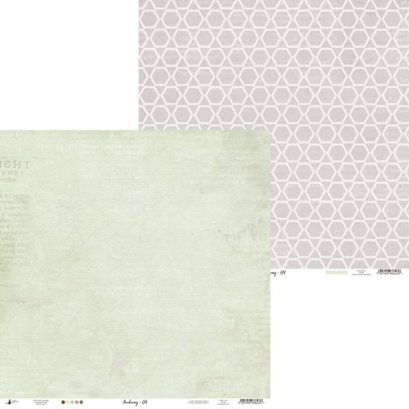 "Papier Awakening 04, 12x12"""