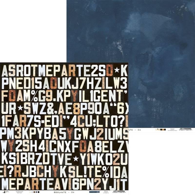 """Papier Soulmate 04, 12x12"""""""