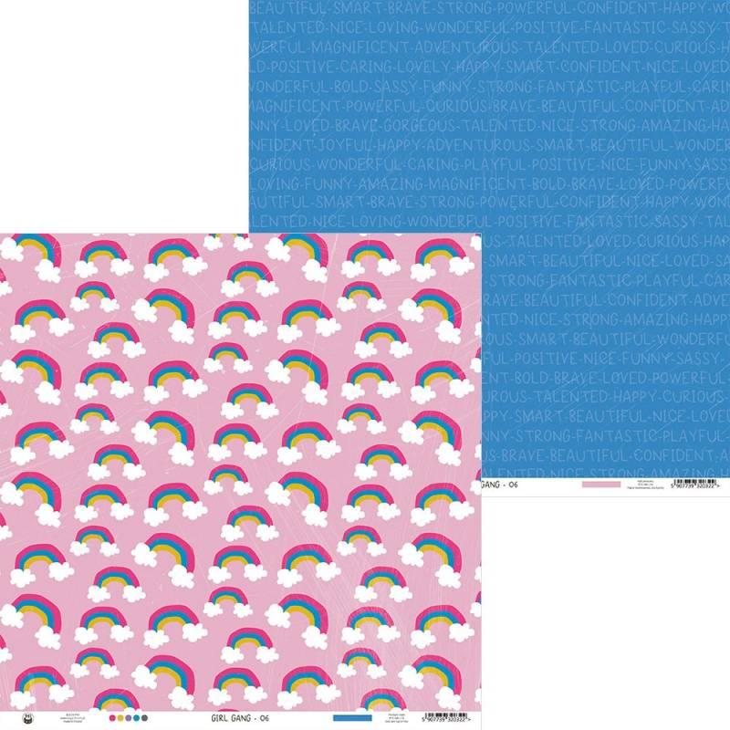 "Papier Girl Gang 06, 12x12"""